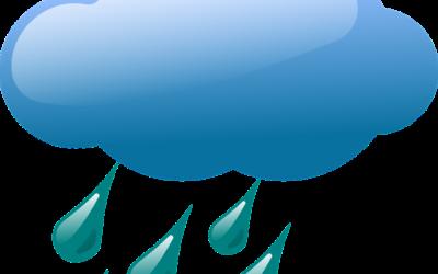 Mauvais temps sur le bassin