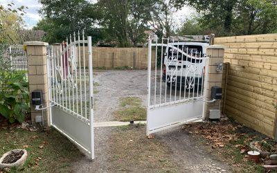 Installation de portails automatiques